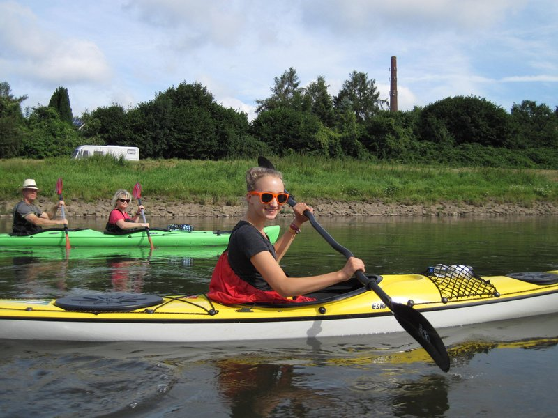 Weser Camping-Wochenende