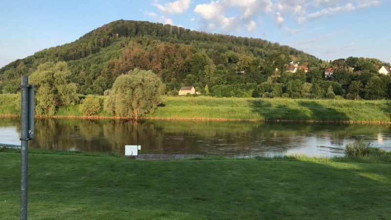 Weser Camping Wochenende